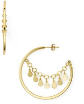 Argentovivo Carmen Disc Hoop Earrings