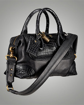 Consuelo Bag with Lock and Shoulder Strap