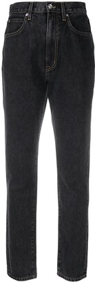 SLVRLAKE Beatnik cropped jeans