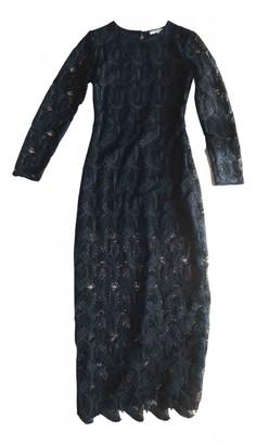 Maje Black Lace Dresses