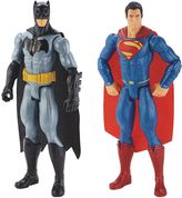 Mattel Batman v. Superman: Dawn of Justice Batman & Superman Figure 2-pk. by