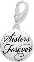 Giani Bernini Sisters Forever Clip-On Charm in Sterling Silver, Only at Macy's