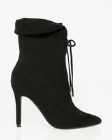 Le Château Suede-Like Pointy Toe Ankle Boot