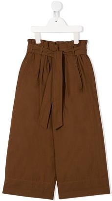 BRUNELLO CUCINELLI KIDS Paperbag Waist Trousers