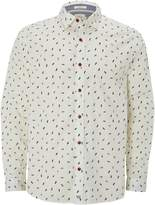 White Stuff Flip Flop Print Long Sleeve Shirt