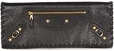 Balenciaga Giant 12 leather clutch