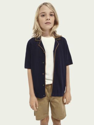 Scotch & Soda Knitted short-sleeved polo | Boys