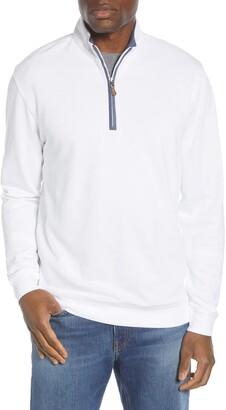 johnnie-O Sully Quarter Zip Pullover