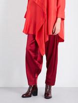 Roksanda Castello wide silk trousers