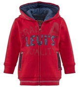 Levi's Red Hoodie With Denim Applique