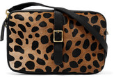 Clare Vivier Printed Calf Hair And Textured-Leather Shoulder Bag
