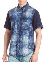 PRPS Cloud Dyed Plaid Shirt
