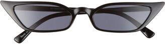 BP 60mm Super Slim Cat Eye Sunglasses
