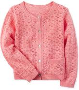 Carter's Crochet Cotton Cardigan, Toddler Girls (2T-4T)