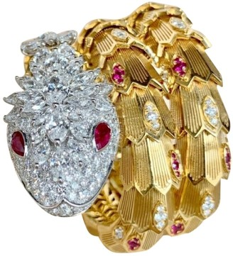 Bvlgari Serpenti Other Yellow gold Bracelets