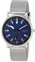 Skagen Colden Three-Hand Mesh Watch (Blue) Watches