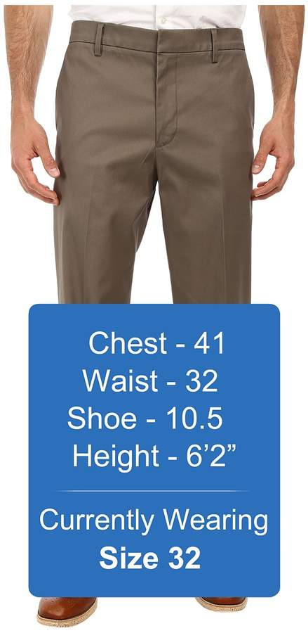 Dockers Iron Free Khaki D2 Straight Fit Flat Front Men's Casual Pants