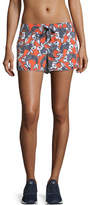 The Upside Sea of Koi Drawstring Running Shorts