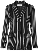 Paul & Joe Eorchestre Pinstriped Stretch-twill Blazer - Black