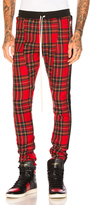 Fear Of God Tartan Wool Plaid Trousers in Red,Checkered & Plaid.