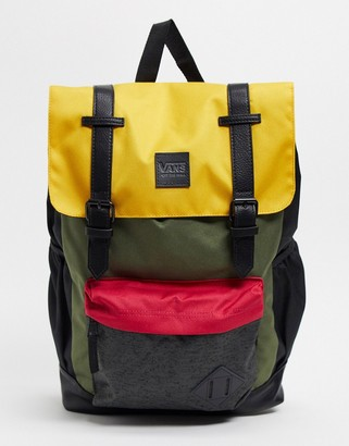 Vans Crosstown Backpack in mango mojito