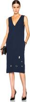 Nomia V Neck Shift Dress