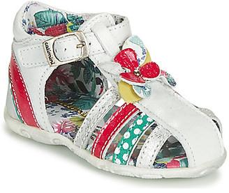 Catimini PERSAN girls's Sandals in White