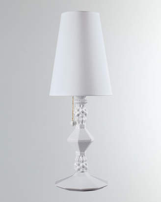 Lladro Belle de Nuit Table Lamp, White