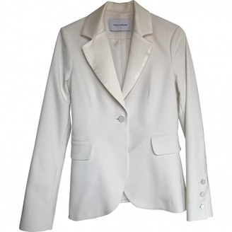 Flavio Castellani White Cotton Jacket for Women
