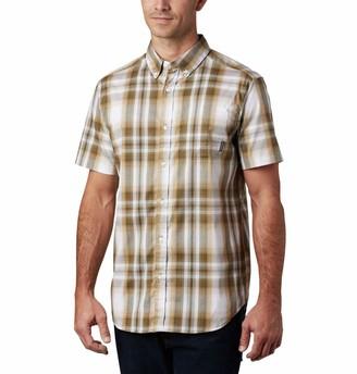 Columbia Men's Big and Tall Rapid Rivers II Short Sleeve Shirt Comfort Stretch