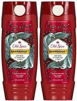 Old Spice Wild Body Wash - Hawkridge - 16 oz - 2 pk