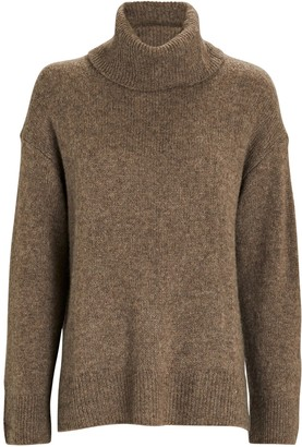 Rails Imogen Cashmere-Silk Turtleneck Sweater