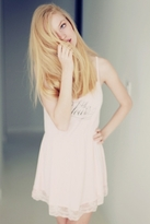 Wildfox Couture Wedding Night Chemise in Blushing Bride