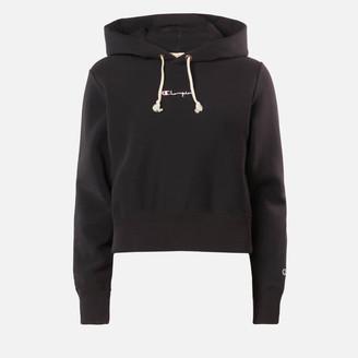 Champion Women's Central Script Hooded Sweatshirt