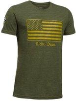 Under Armour Boys' Notre Dame UA Flag T-Shirt