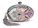 Judith Leiber 'Egg Fantasia' crystal pavé minaudière