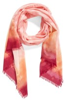 Nordstrom Women's Saharan Colorwash Cashmere & Silk Scarf