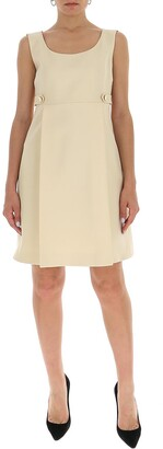 Gucci Sleeveless Box Pleated Dress