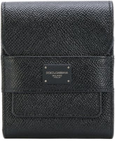 Dolce & Gabbana textured leather wallet - men - Calf Leather - One Size