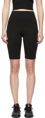 Fleur Du Mal Black Knit Bike Shorts