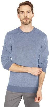 Southern Tide Bailer Crew Neck Sweater (True Navy) Men's Clothing