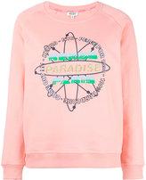 Kenzo paradise logo sweatshirt