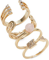 Expression Four-Piece Open Arrow Ring Set
