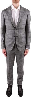 Tagliatore Virgin Wool And Silk Suit