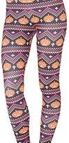 QZUnique Women's Footless Elastic Leggings