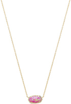 Kendra Scott Elisa Necklace in Metallic Gold.