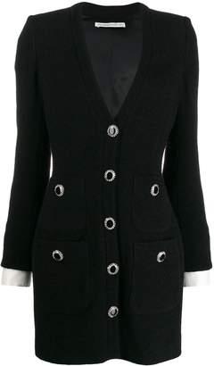 Alessandra Rich blazer-style mini dress
