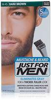 Just For Men Mustache and Beard Brush-In Color Gel,3 Count