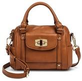 Merona Women's Mini Satchel Faux Leather Handbag with Removable Crossbody Strap