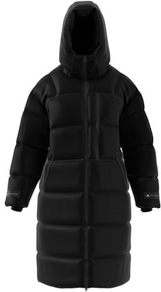 adidas by Stella McCartney Long Hooded Puffer Coat